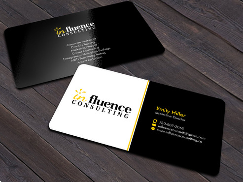 Influence Consulting Business Cards and Stationery  Draft # 8 by Xpert