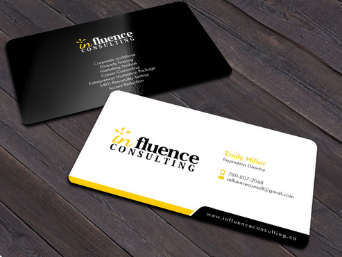Influence Consulting Business Cards and Stationery  Draft # 9 by Xpert