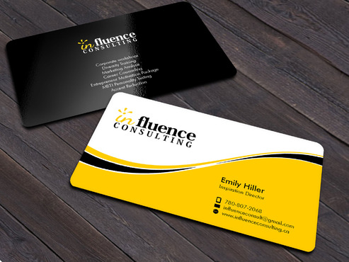 Influence Consulting Business Cards and Stationery  Draft # 11 by Xpert