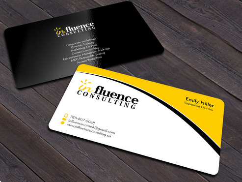 Influence Consulting Business Cards and Stationery  Draft # 13 by Xpert