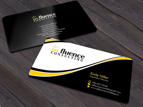 Influence Consulting Business Cards and Stationery  Draft # 14 by Xpert