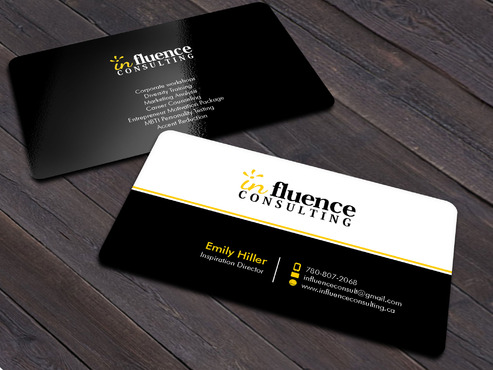 Influence Consulting Business Cards and Stationery  Draft # 15 by Xpert