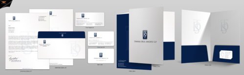 TDS LAWYERS Business Cards and Stationery Winning Design by einsanimation