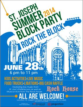St. Joseph Summer Block Party Marketing collateral  Draft # 31 by ALgraphics
