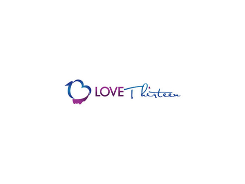 LOVE thirteen (as shown) A Logo, Monogram, or Icon  Draft # 95 by saiiah
