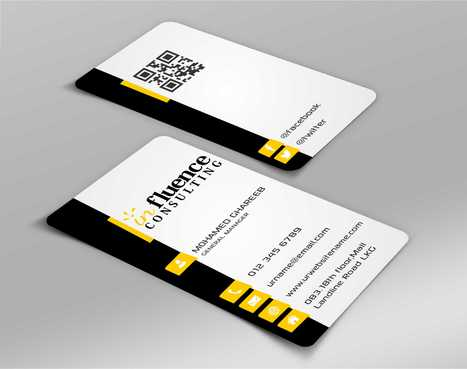 Influence Consulting Business Cards and Stationery  Draft # 138 by Dawson