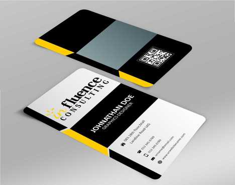 Influence Consulting Business Cards and Stationery  Draft # 143 by Dawson