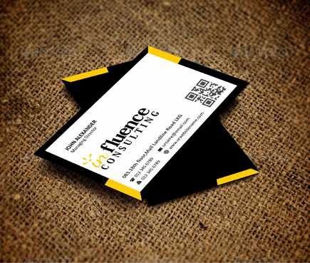 Influence Consulting Business Cards and Stationery  Draft # 146 by Dawson
