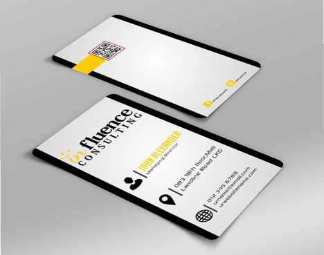 Influence Consulting Business Cards and Stationery  Draft # 154 by Dawson