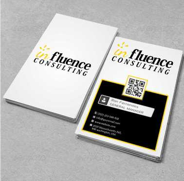Influence Consulting Business Cards and Stationery  Draft # 160 by Dawson