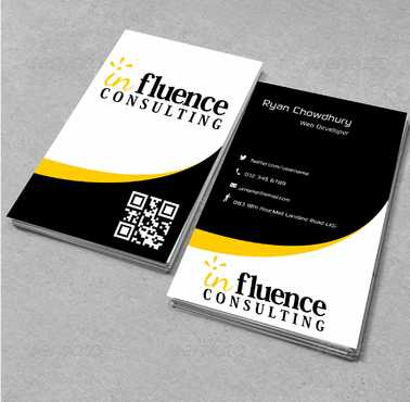 Influence Consulting Business Cards and Stationery  Draft # 162 by Dawson