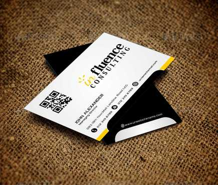 Influence Consulting Business Cards and Stationery  Draft # 173 by Dawson