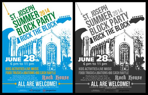 St. Joseph Summer Block Party Marketing collateral  Draft # 38 by ALgraphics