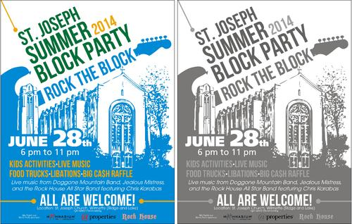 St. Joseph Summer Block Party Marketing collateral  Draft # 39 by ALgraphics