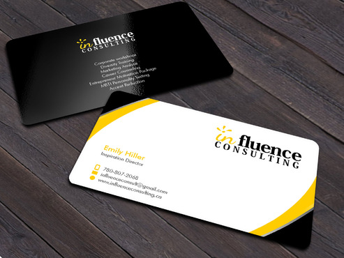 Influence Consulting Business Cards and Stationery  Draft # 220 by Xpert