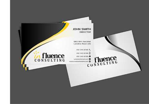 Influence Consulting Business Cards and Stationery  Draft # 244 by Dawson