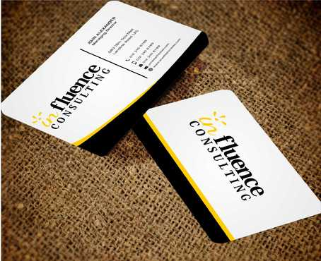Influence Consulting Business Cards and Stationery  Draft # 268 by Dawson