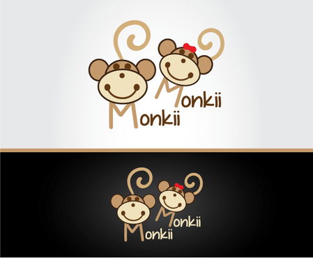 Monkii Monkii A Logo, Monogram, or Icon  Draft # 121 by peppermint