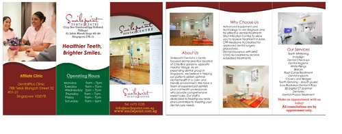 Smilepoint Dental Centre Marketing collateral  Draft # 6 by rockerss13