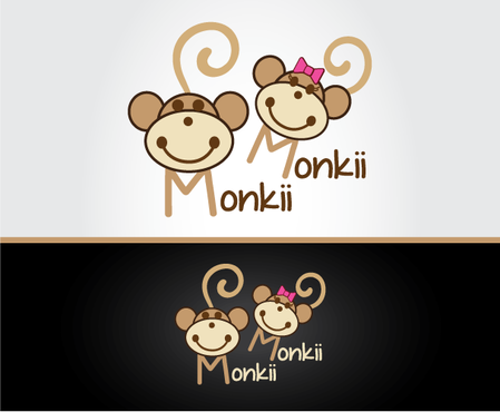 Monkii Monkii A Logo, Monogram, or Icon  Draft # 179 by peppermint