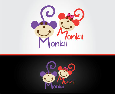 Monkii Monkii A Logo, Monogram, or Icon  Draft # 180 by peppermint