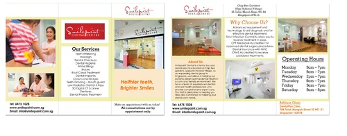 Smilepoint Dental Centre Marketing collateral  Draft # 10 by rockerss13