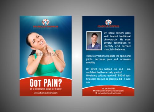 Muscle Works Marketing collateral  Draft # 2 by Kaiza