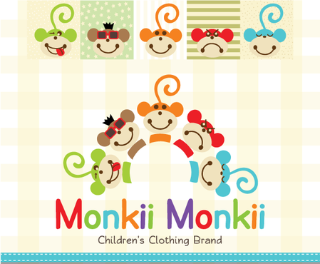 Monkii Monkii A Logo, Monogram, or Icon  Draft # 249 by peppermint