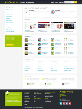 adsservices Web Design  Draft # 15 by hamdirizal