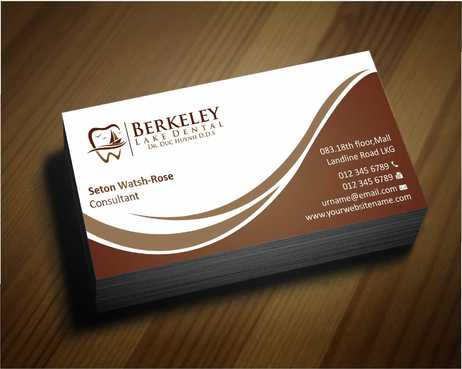 Berkeley Lake Dental LLC Business Cards and Stationery  Draft # 161 by Dawson