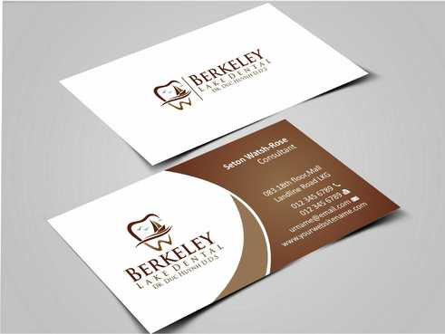 Berkeley Lake Dental LLC Business Cards and Stationery  Draft # 164 by Dawson