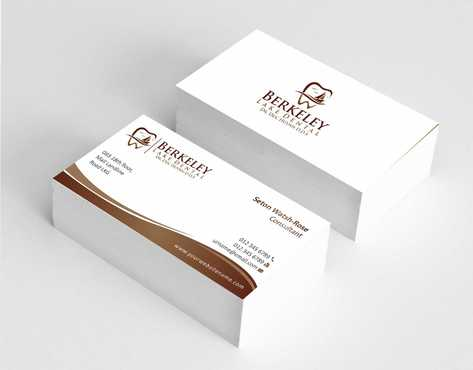 Berkeley Lake Dental LLC Business Cards and Stationery  Draft # 165 by Dawson