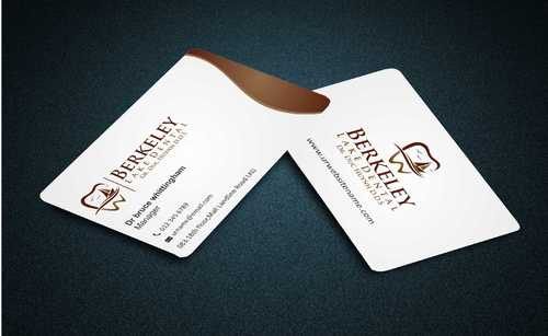 Berkeley Lake Dental LLC Business Cards and Stationery  Draft # 172 by Dawson