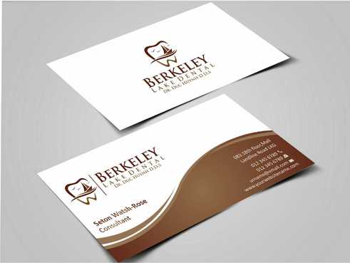 Berkeley Lake Dental LLC Business Cards and Stationery  Draft # 163 by Dawson
