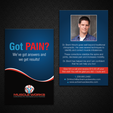Muscle Works Marketing collateral  Draft # 7 by monski