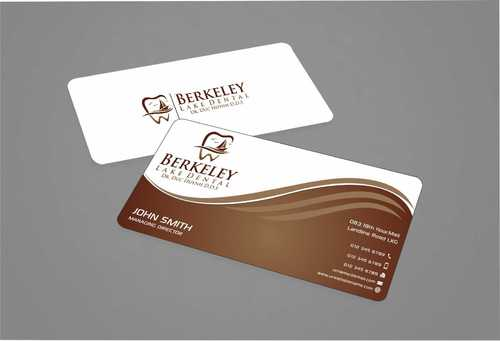 Berkeley Lake Dental LLC Business Cards and Stationery  Draft # 174 by Dawson