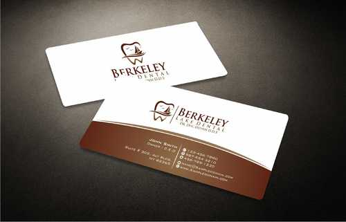 Berkeley Lake Dental LLC Business Cards and Stationery  Draft # 175 by Dawson
