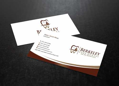 Berkeley Lake Dental LLC Business Cards and Stationery  Draft # 176 by Dawson