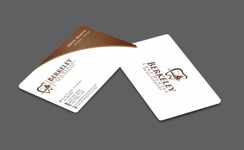 Berkeley Lake Dental LLC Business Cards and Stationery  Draft # 177 by Dawson