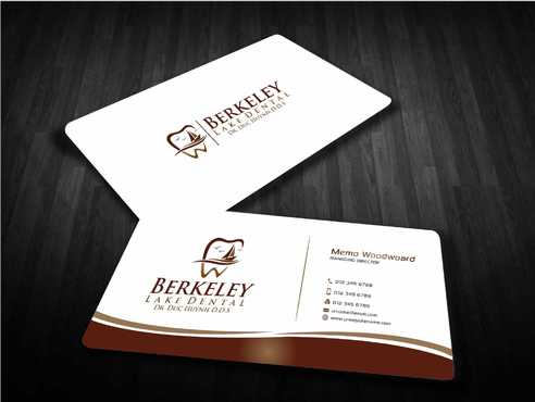Berkeley Lake Dental LLC Business Cards and Stationery  Draft # 180 by Dawson