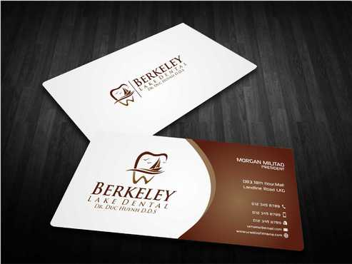Berkeley Lake Dental LLC Business Cards and Stationery  Draft # 182 by Dawson