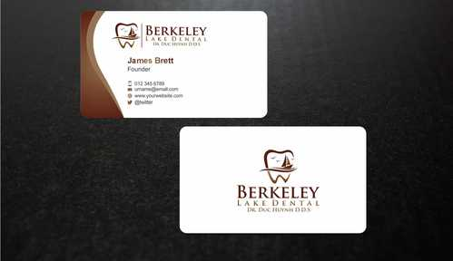 Berkeley Lake Dental LLC Business Cards and Stationery  Draft # 179 by Dawson