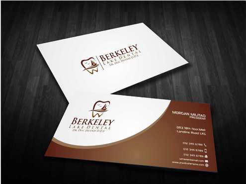 Berkeley Lake Dental LLC Business Cards and Stationery  Draft # 181 by Dawson