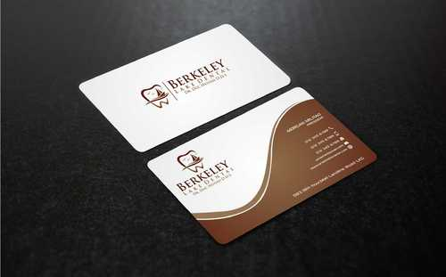 Berkeley Lake Dental LLC Business Cards and Stationery  Draft # 183 by Dawson