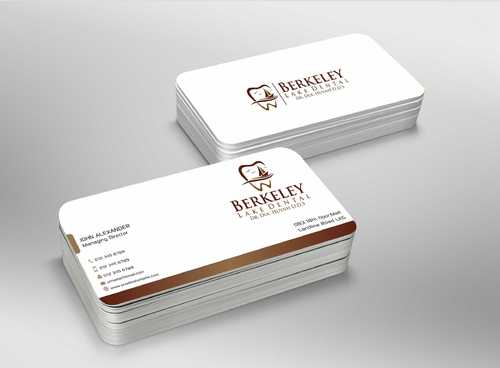 Berkeley Lake Dental LLC Business Cards and Stationery  Draft # 186 by Dawson