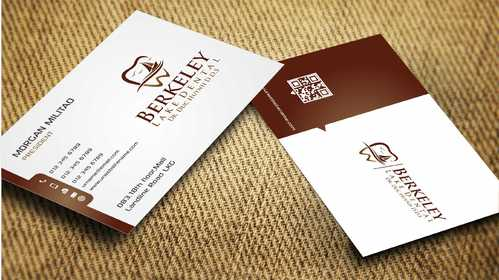 Berkeley Lake Dental LLC Business Cards and Stationery  Draft # 184 by Dawson