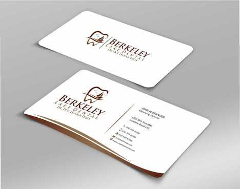 Berkeley Lake Dental LLC Business Cards and Stationery  Draft # 189 by Dawson