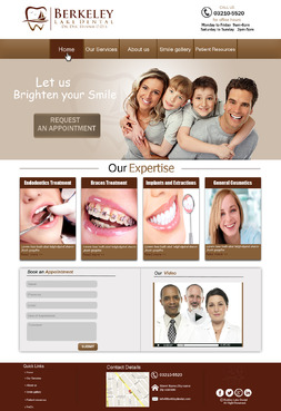 Berkeley Lake Dental Complete Web Design Solution  Draft # 144 by Rooshan