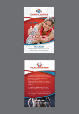 Muscle Works Marketing collateral  Draft # 18 by inovatedesign
