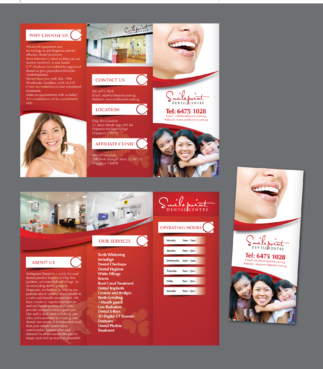 Smilepoint Dental Centre Marketing collateral  Draft # 28 by inovatedesign